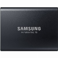 SSDEX 1024GB Samsung T5 AES 256bit - Schwarz - USB