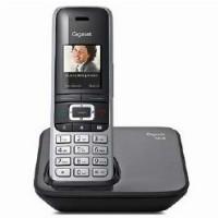TELF Gigaset S850 Schnurlostelefon Schwarz Platin