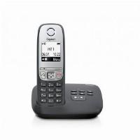 TELF Gigaset A415A Schnurlostelefon + AB Schwarz