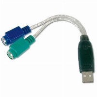 Adapter USB -> PS/2 2x Digitus