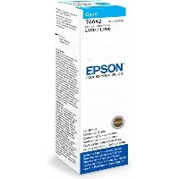 EPSON T6642 CYAN BOTTLE ECO TANK NACHFÜLLTINTE 70ML