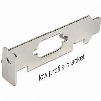 Slotblech LP D-Sub/VGA Low Profile