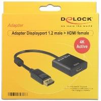 DisplayPort > HDMI (ST - BU) Adapter Delock Aktiv