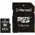TF MicroSDHC 32GB Intenso C10 inkl.SD Adapter