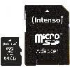 TF MicroSDXC 64GB Intenso C10 inkl.SD Adapter
