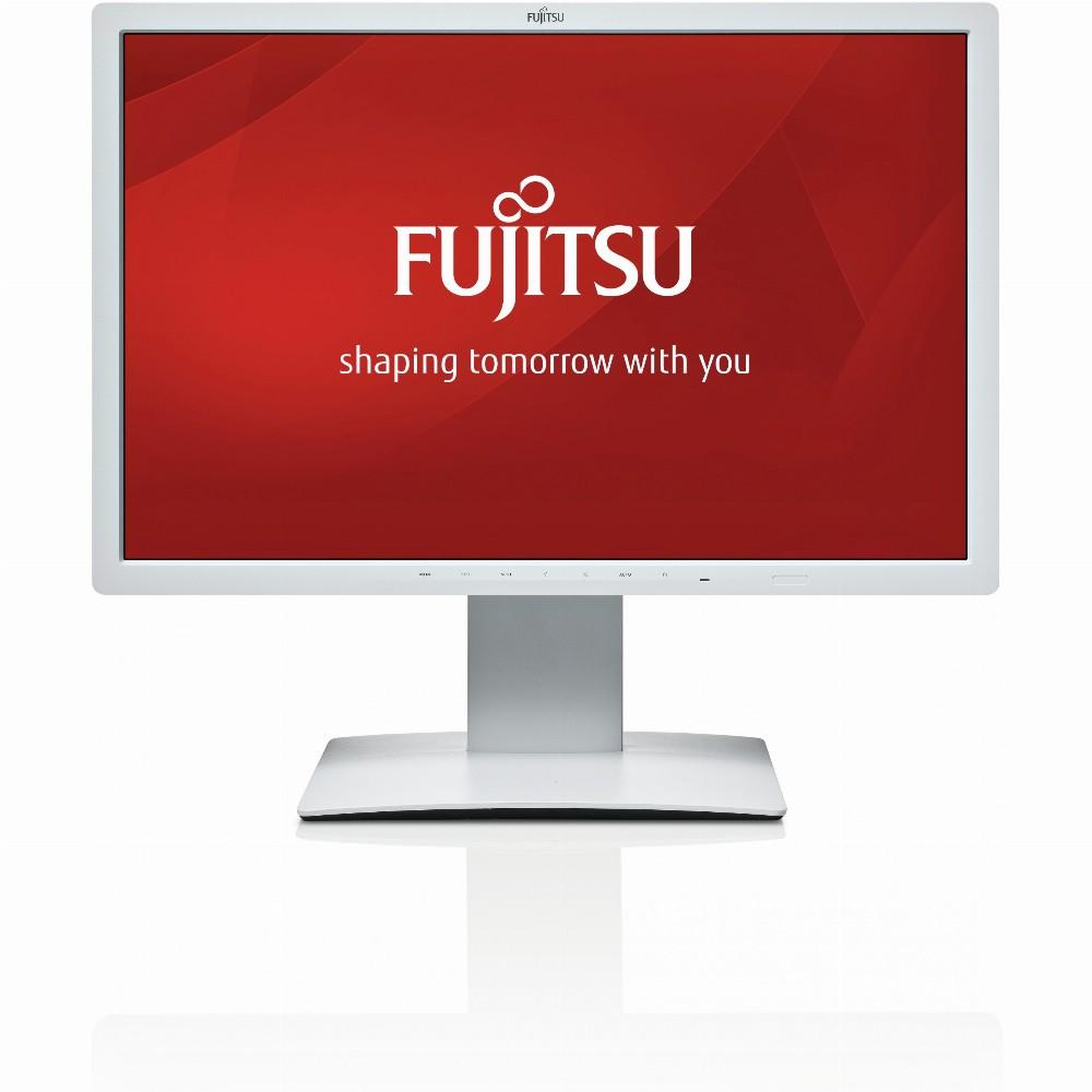 """61cm/24"""" (1920x1200) Fujitsu B24W-7 DVI DP USB Pivot 5ms marmorgrau"""