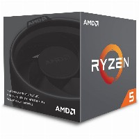 AMD AM4 Ryzen 5 6 Box 2600 3,40 GHz 6xCore 19MB 65W with Wraith Stealth cooler