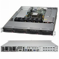 "Barebone Server 1 U Single 3647; 4 Hot-swap 3.5""; 500W Redundant Platinum; SuperServer 5019P-WTR"