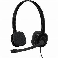 Logitech H151 Stereo Headset On Ear Kabelgebunden