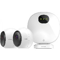 D-Link DCS 2802KT - mydlink Pro Wire-Free Camera Kit - weiß