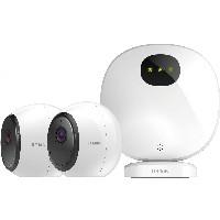 D-Link DCS 2802KT - mydlink Pro Wire-Free Camera Kit - weiß
