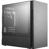 Mini CoolerMaster Silencio S400 TG | black, schallgedämmt, window