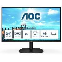 TFT 60,5cm/23,8'' (1920x1080) AOC 24B2XH IPS 8ms 16:9 USB HDMI Full HD Black