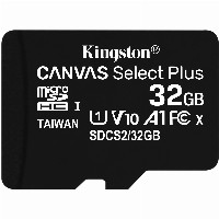 MicroSDHC 32GB Kingston Canvas Select Plus C10 UHS-I 100MB/s