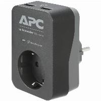 APC SurgeArrest Essential PME1WU2B-GR - 1x Überspa
