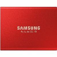 500GB Samsung Portable T5 USB3.1 Gen2 Rot retail