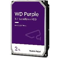 2TB WD WD20PURZ Purple Surveillance 5400RPM *