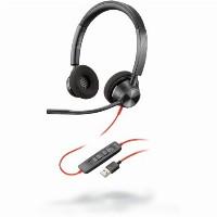 Headset Poly - Plantronics Blackwire 3320 USB-A