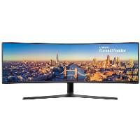 124,5cm/49'' (3840x1080) Samsung C49J890DKR Curved 4ms 144Hz DisplayPort HDMI USB-C Black
