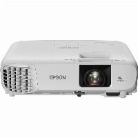 (1920x1080) Epson EB-FH06 3-LCD Portable 3500-Lumen 16:9 VGA HDMI CompositeVideo Speaker Full HD White 28-37dB