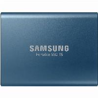 500GB Samsung Portable T5 USB3.1 Gen2 Blau retail