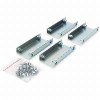 NWSZ Anreihverb.-Set für Unique & Dynamic Basic Racks 4 Stk. galavanisiert, inkl. Schrauben Stahlverb., inkl. Schrauben DIGITUS