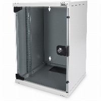 "NWS 254 mm (10"") 9HE Wandgehäuse 464x312x300 mm, Farbe Grau (RAL 7035) DIGITUS Professional"