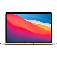 "Apple 13"" MacBook Air: Apple M1 chip with 8-core CPU and 7-core GPU, 256GB - Gold *NEW*"