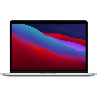 """Apple 13"""" MacBook Pro: Apple M1 chip with 8_core CPU and 8_core GPU, 256GB SSD - Silver *NEW*"""