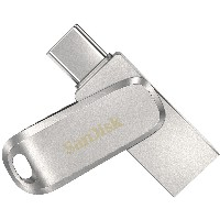 STICK 128GB 3.1 SanDisk Ultra Dual Drive Luxe Type-C silver