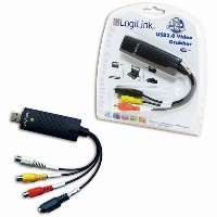 Adapter Audio/Videograbber LogiLink