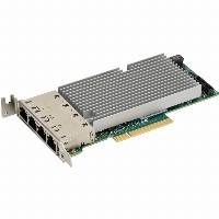 INTG 10Gb 4xRJ45 SUPERMICRO AOC-STG-I4T |Intel XL710+X557; PCIeX8; LP