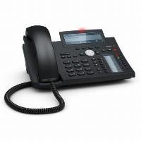 SNOM D345 VOIP Tischtelefon (SIP) ohne Netzteil