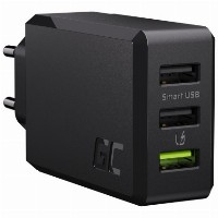 Ladegerät GreenCell Charge Source 3xUSB Smart Char
