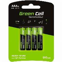 Akku 4xAAA HR03 950mAh GreenCell