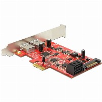 SATA3 PCIe Delock U3S6 USB3/SATA3