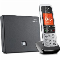 TELF Gigaset C430A GO Schnurlostelefon black