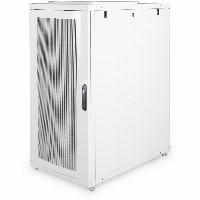 "Serverschrank 19"" 26HE Digitus 1260x600x1000 mm, Farbe Grau (RAL 7035), perforierte Tür"