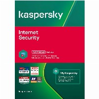 Kaspersky Internet Security - 1 Device, 1 Year - E