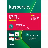 Kaspersky Internet Security - 3 Devices, 1 Year -