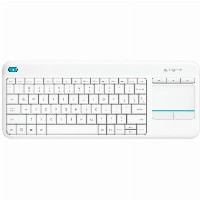 Logitech K400 Plus wireless Touch white