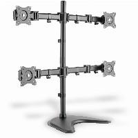 """Monitorständer für 4 Monitore bis 69cm 27"""" 8KG Digitus DA-90364"""