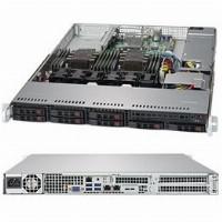 "Barebone Server 1U Dual 3647; 8 Hot-swap 2.5""; 600W Platinum; SuperServer 1029P-WT"