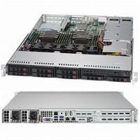 """Barebone Server 1U Dual 3647; 8 Hot-swap 2,5""""; 750W Redundant Platinum; SuperServer 1029P-WTR"""