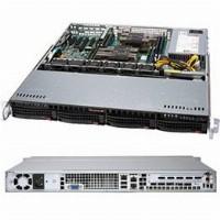 "Barebone Server 1U Dual 3647; 4 Hot-swap 3,5""; 500W Platinum; SuperServer 6019P-MT"