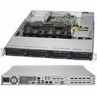 "Barebone Server 1U Dual 3647; 4Hot-swap 3,5""; 600W Platinum; SuperServer 6019-WT"