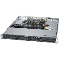"Barebone Server 1 U Single 1151; 4 Hot-swap 3.5""; 350W Platinum; SuperServer 5019S-MT"