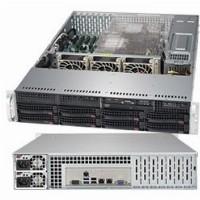 "Barebone Server 2 U Dual 3647; 8 Hot-swap 3.5""; 1000W Redundant Titanium; SuperServer 6019P-TR"
