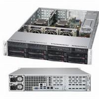 "Barebone Server 2 U Dual 3647; 8 Hot-swap 3.5""; 1000W Redundant Titanium; SuperServer 6029P-WTR"