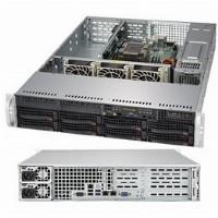 "Barebone Server 2 U Single 3647; 8 Hot-swap 3.5""; 500W Redundant Platinum; SuperServer 5029P-WTR"